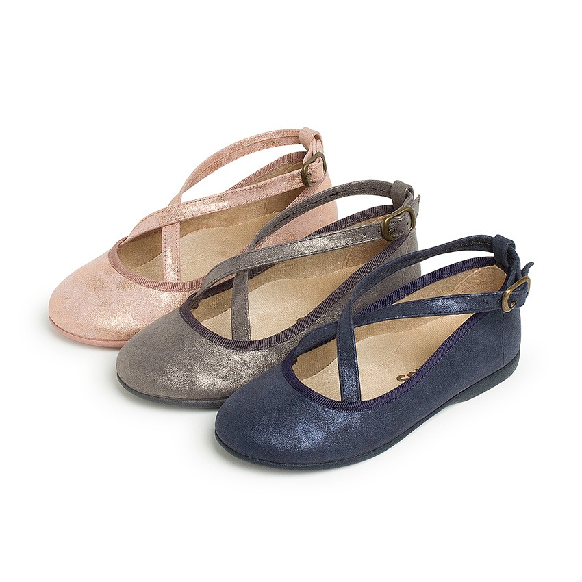 Mary Janes girls buckles crossed straps