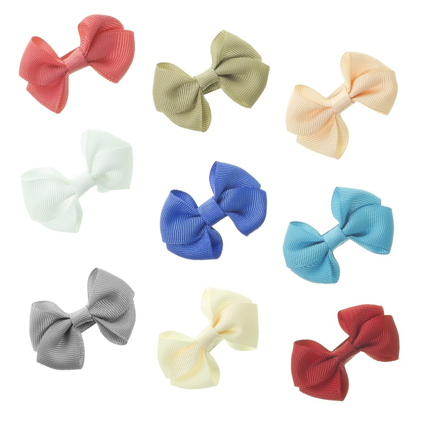 Girl's Small Bow Hair Clips