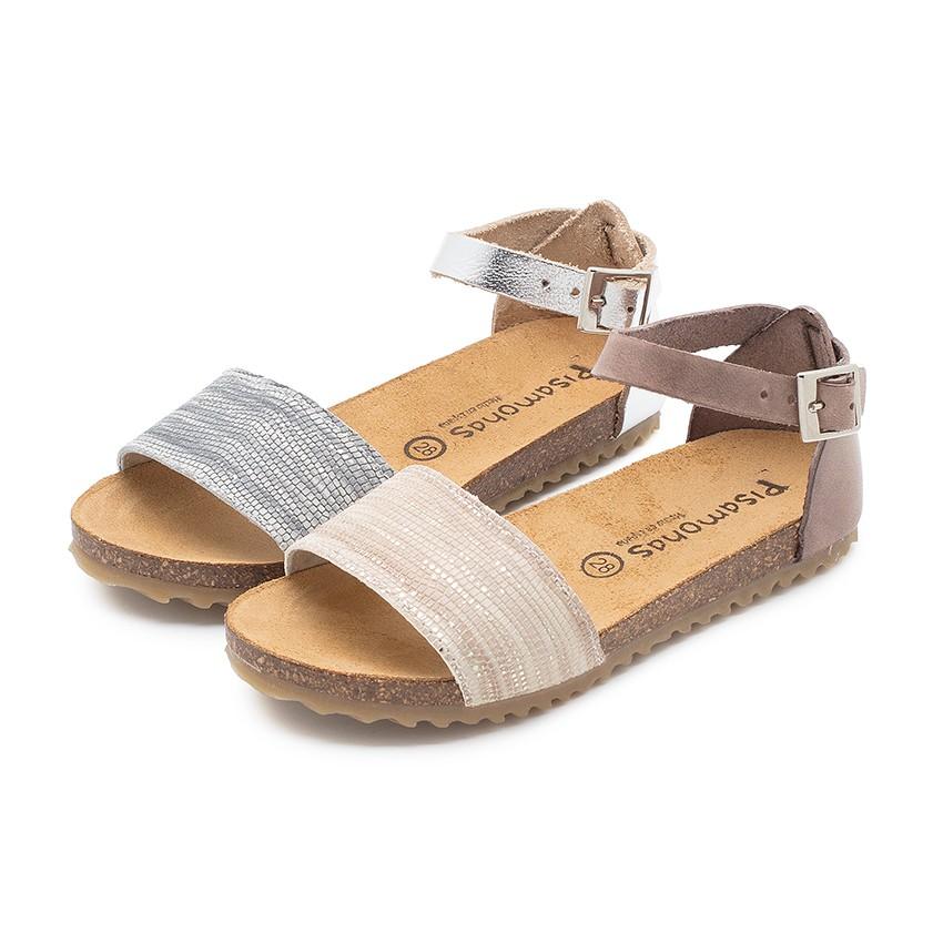 Snakeskin Print Bio Sandals