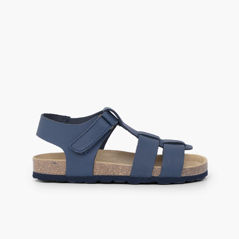 Eco sandals kids nubuck leather