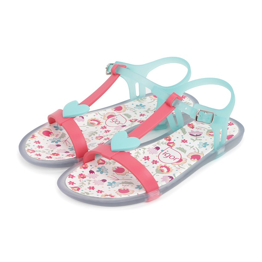 Girls Rubber Sandals Tricia Love