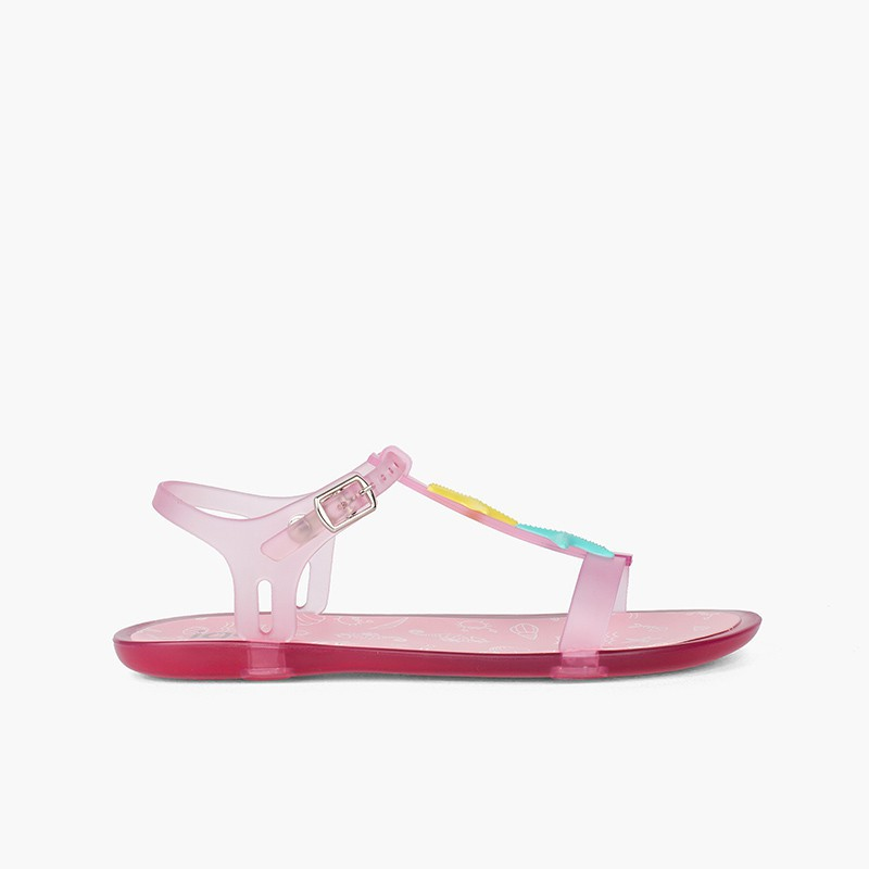 Rubber sandals starfish Tricia