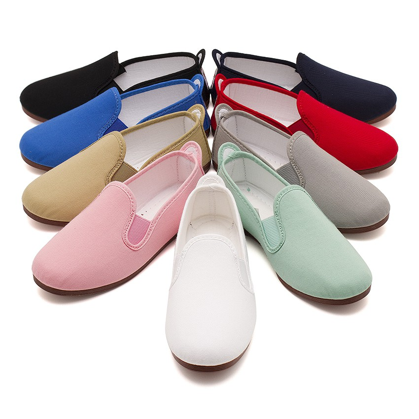 Canvas Slip On Plimsolls