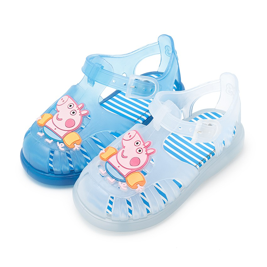 e14270a82b98 Boys George Pig Jelly Shoes - Summer Kids Footwear at Pisamonas