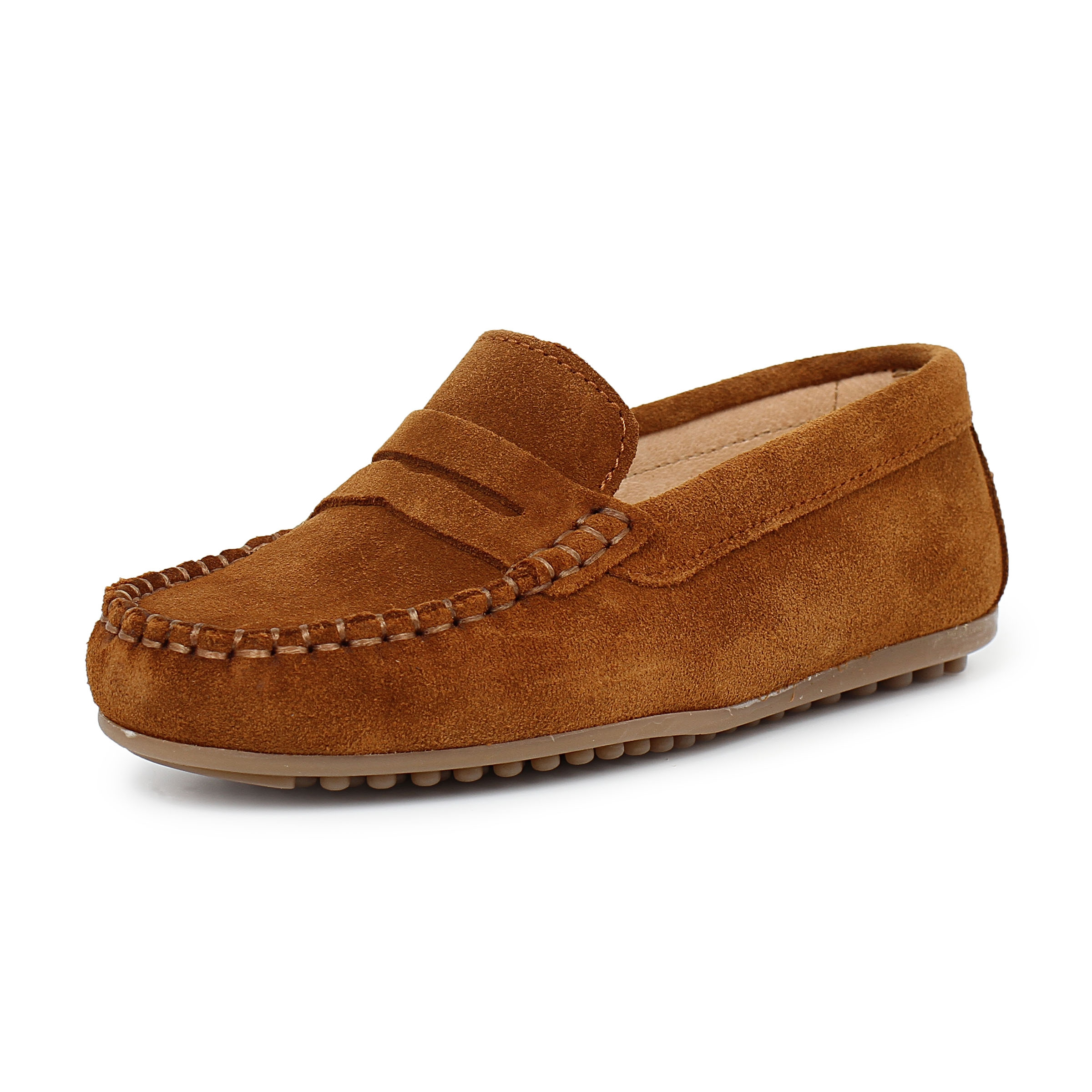 Boys Suede Mask Loafers