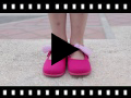 Video from Canvas Velcro and Gingham Bow Mary Janes