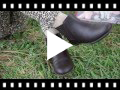 Video from Girls Leather Sided Elastic Ankle Boots