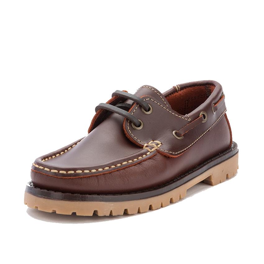 Boys Lace-Up Deck Shoes