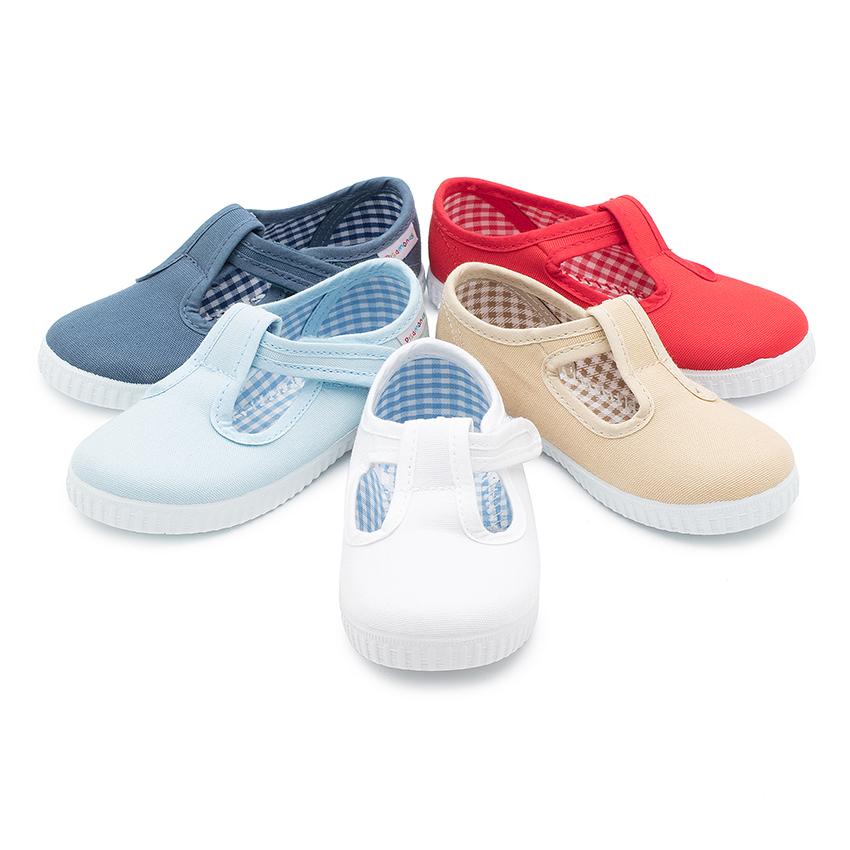 Boys T-Bar Velcro Shoes