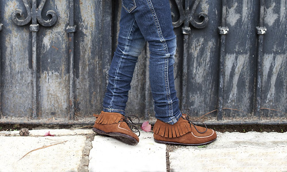 Fringed Ankle Boots for Kids and Women
