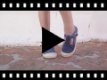 Video from Stone Washed Canvas T-Bar Shoes