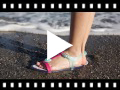 Video from Girls Rubber Sandals Tricia Love