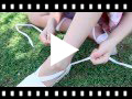 Video from Plain Ankle-Tie Espadrilles