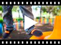 Video from Boys Coloured Band Canvas Loafers Big Sizes