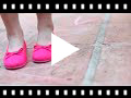 Video from Canvas Ballet Flats with Ribbon