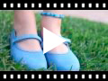 Video from Girls Riptape Canvas Mary Janes
