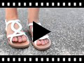 Video from Girls Oval Roman Sandals