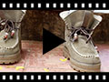 Video from Suede faux sheepskin Boots