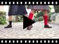 Video from Girls Riptape Mary Jane School Shoes