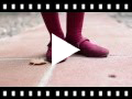 Video from Girls Riptape Faux Suede Mary Janes