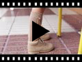 Video from Leather Lace-Up Oxford Booties