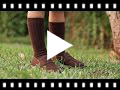 Video from Boys Faux Suede Mask Loafers