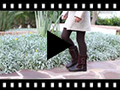Video from Girls Suede and Leather Tassel Boots