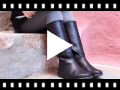 Video from Leather Plain Knee High Boots
