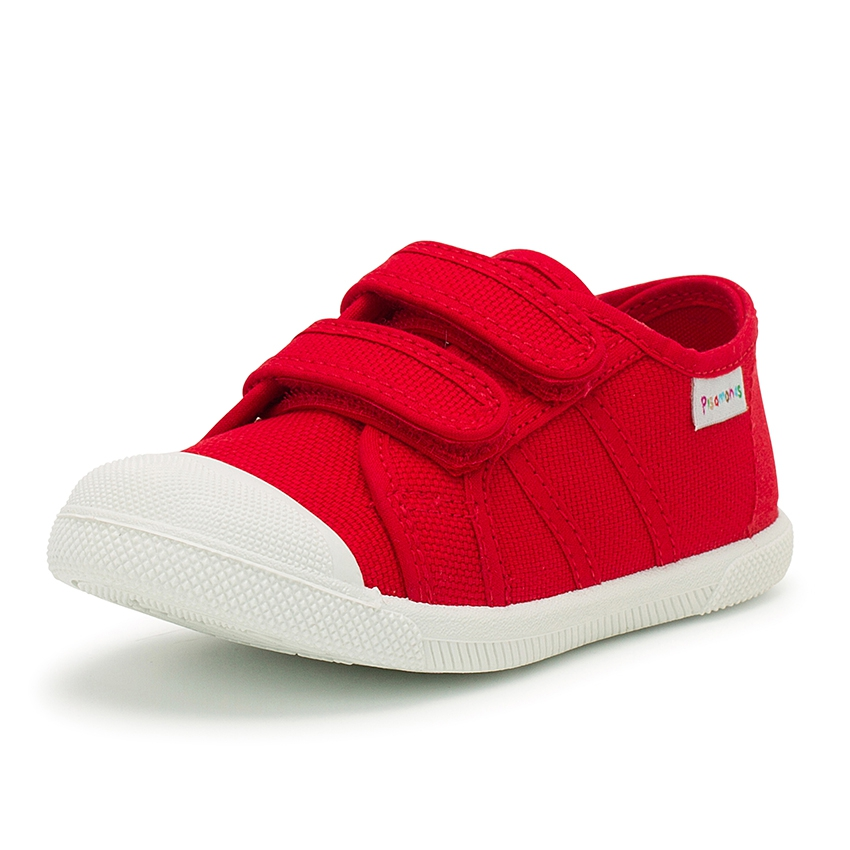 Kids Riptape Canvas Trainers