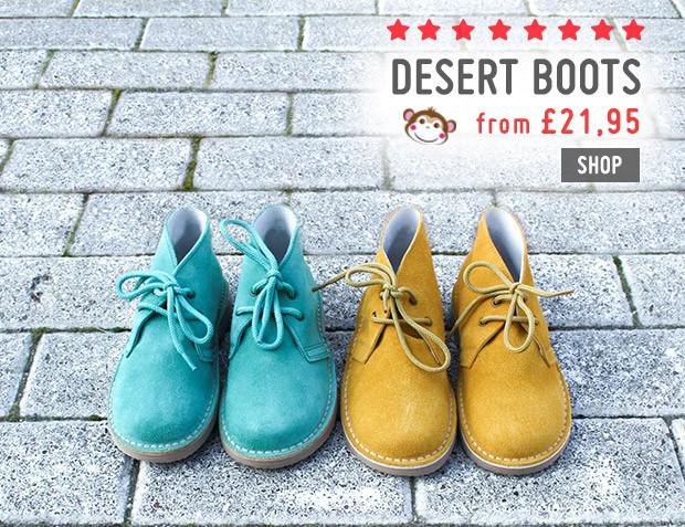 Desert Boots for Boys and Girls