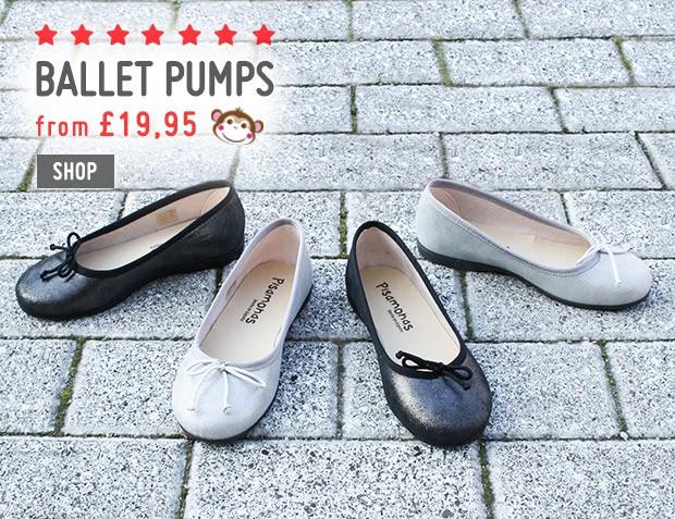 Ballet Pumps for Girls