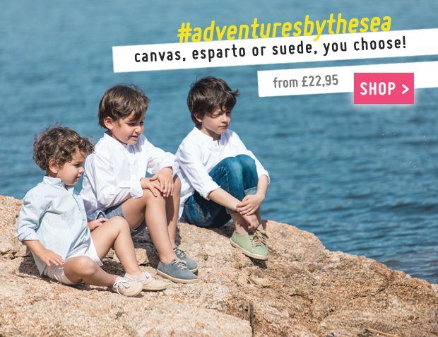 Boat Shoes and Trainers for Boys Collection Sprin Summer 2017