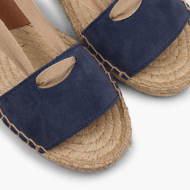 SUEDE AND JUTE