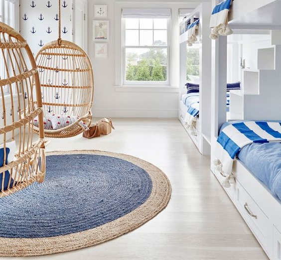Ideas for decorating children's rooms