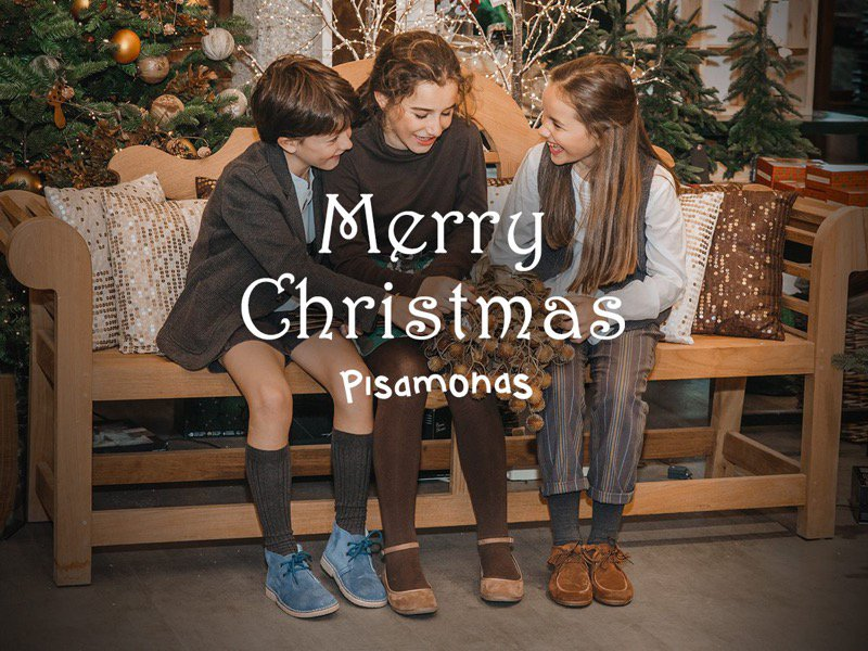 Merry Christmas with Pisamonas