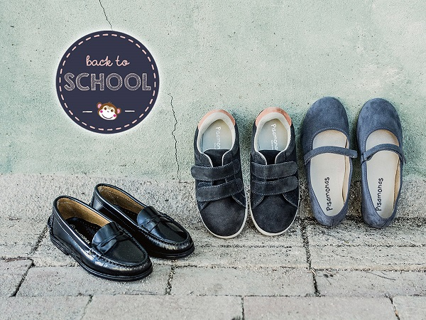 Shoes for school uniforms Pisamonas