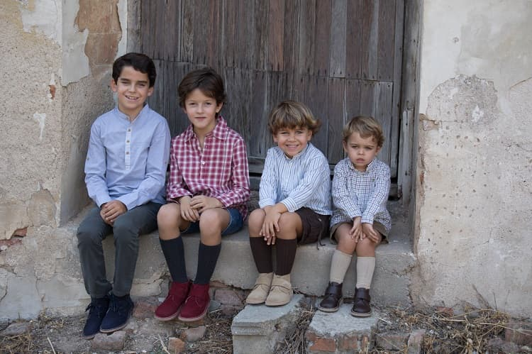 Tallas de zapatos según edades Pisamonas