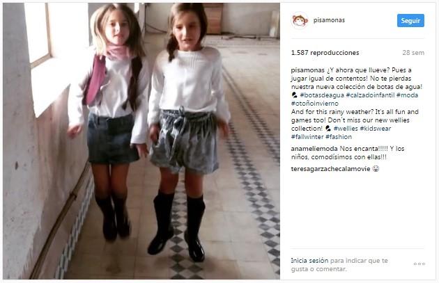 Instagram pisamonas girls